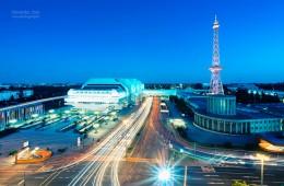 Berlin – Funkturm und ICC