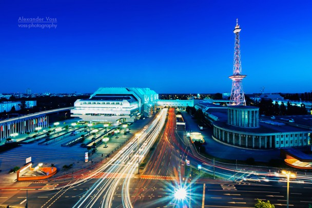 Berlin - Funkturm und ICC