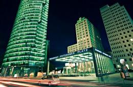 Berlin – Nachts am Potsdamer Platz