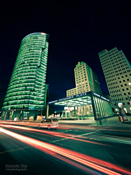 Berlin - Nachts am Potsdamer Platz