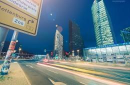 Berlin – Potsdamer Platz bei Nacht