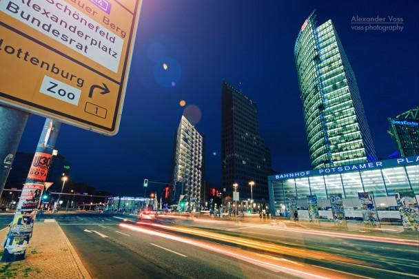 Berlin by Night - Potsdamer Platz