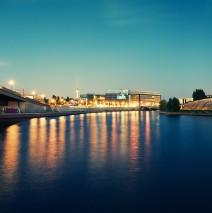 Berlin – Spree bei Nacht