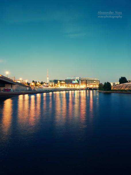 Berlin - Spree River at Night