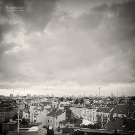 Analoge Fotografie: Berlin – Neukölln Roofscape