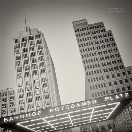 Analoge Fotografie: Berlin – Potsdamer Platz