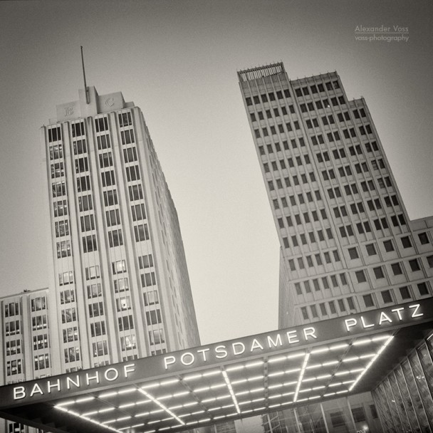 Analog Photography: Berlin - Potsdamer Platz