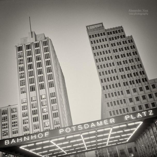Analoge Fotografie: Berlin - Potsdamer Platz
