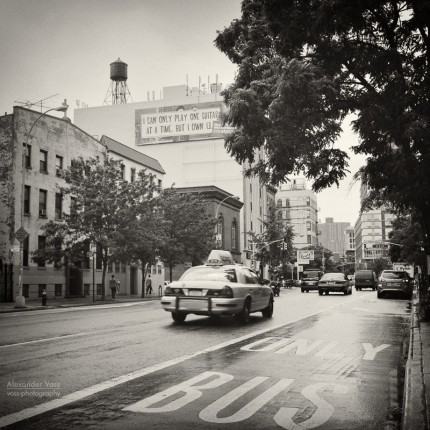 Analoge Fotografie: New York City – East Village (No.1)