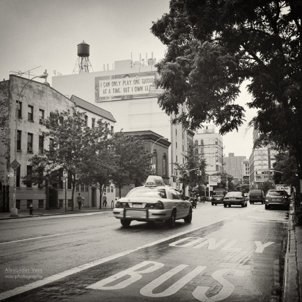 Analog Photography: New York City - East Village (No.1)