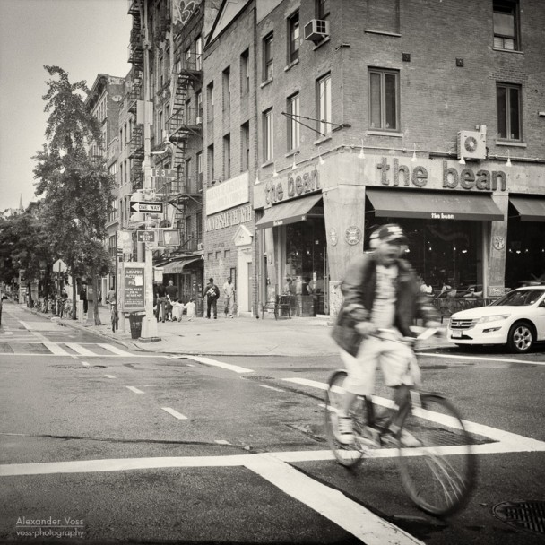 Analog Photography: New York City - East Village (No.2)