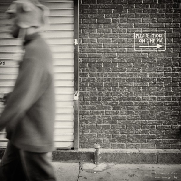 Analog Photography: New York City - East Village (No.5)