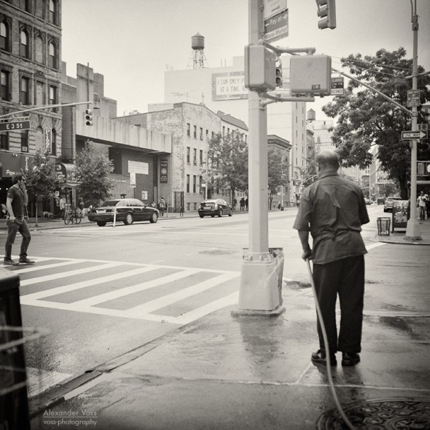 Analog Photography: New York City - East Village (No.6)
