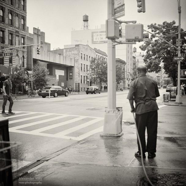 Analog Photography: New York City - East Village (No.6)