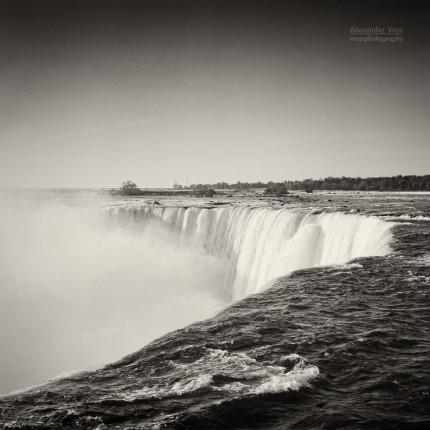 Analoge Fotografie: Niagara Falls