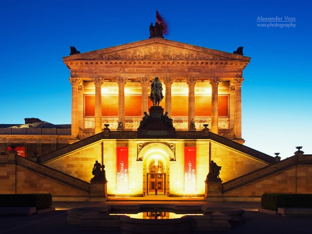 Berlin - Alte Nationalgalerie / Museumsinsel