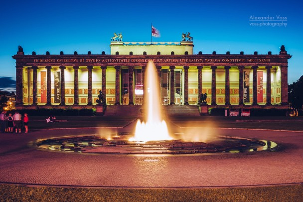Berlin - Altes Museum / Lustgarten