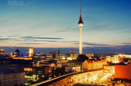Berlin – Skyline Alexanderplatz