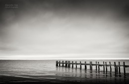 Schwarz-Weiss-Fotografie: Seascape / Martha's Vineyard