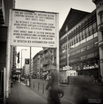 Analog Photography: Berlin – Checkpoint Charlie