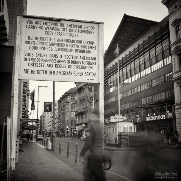 Analog Photography: Berlin - Checkpoint Charlie