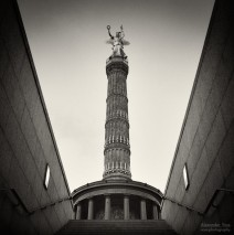 Analog Photography: Berlin – Victory Column