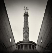 Analoge Fotografie: Berlin – Siegessäule