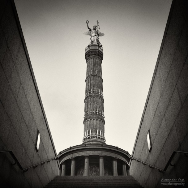 Analog Photography: Berlin - Victory Column