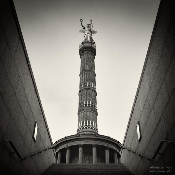 Analoge Fotografie: Berlin - Siegessäule