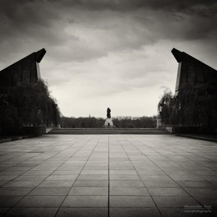 Analoge Fotografie: Berlin – Sowjetisches Ehrenmal Treptow