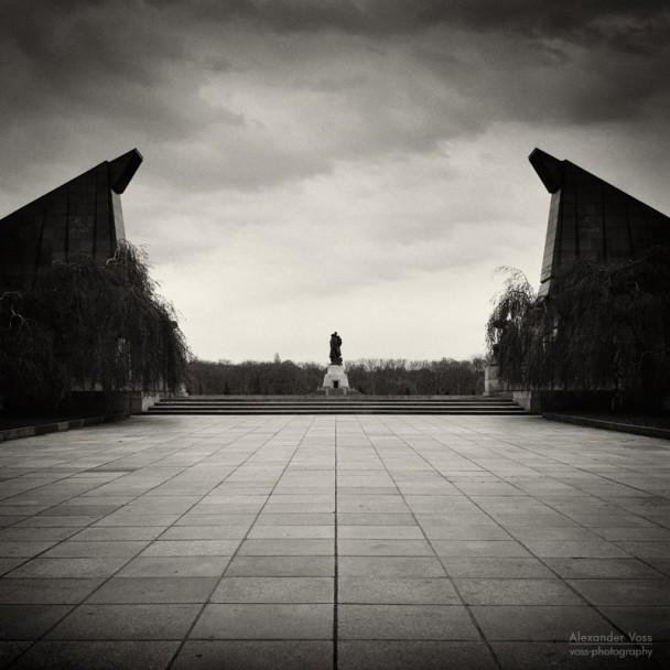 Analoge Fotografie: Berlin - Sowjetisches Ehrenmal Treptow