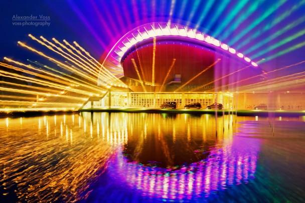 Berlin bei Nacht: Haus der Kulturen der Welt