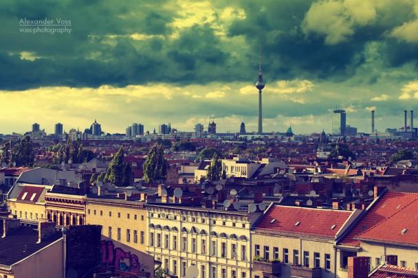 Berlin - Neukölln Skyline