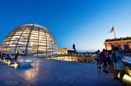 Berlin – Reichstag Dachterrasse