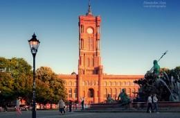 Berlin – Rotes Rathaus / Neptunbrunnen