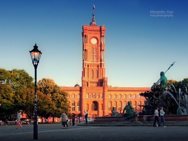 Berlin - Red City Hall / Neptune Fountain
