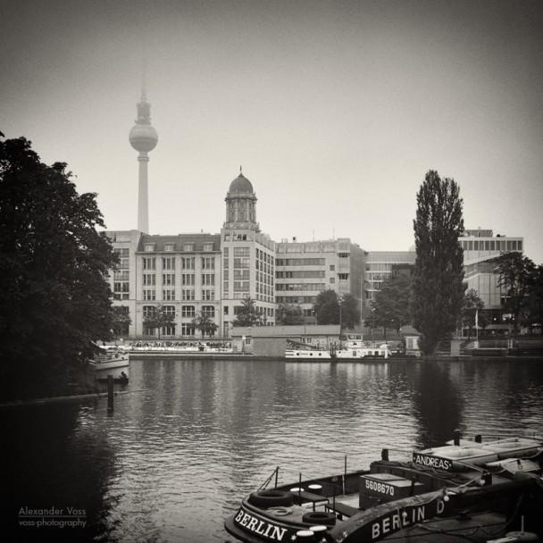 Analog Photography: Berlin - Fischerinsel