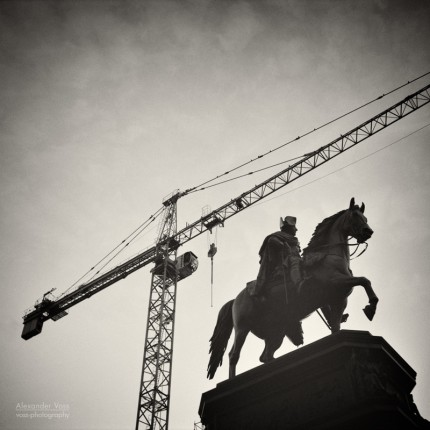 Analoge Fotografie: Berlin – Friedrich der Grosse / Unter den Linden