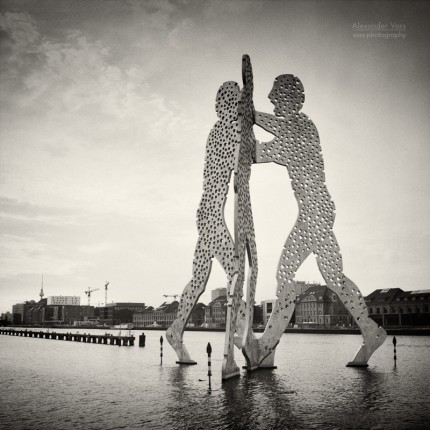Analoge Fotografie: Berlin – Molecule Man