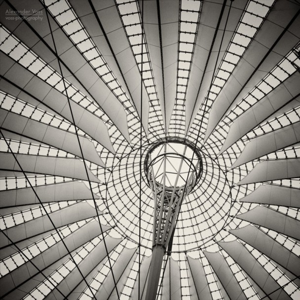 Analog Photography: Berlin - Sony Center