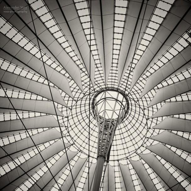 Analoge Fotografie: Berlin - Sony Center