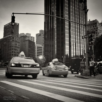 Analoge Fotografie: New York City – Columbus Circle