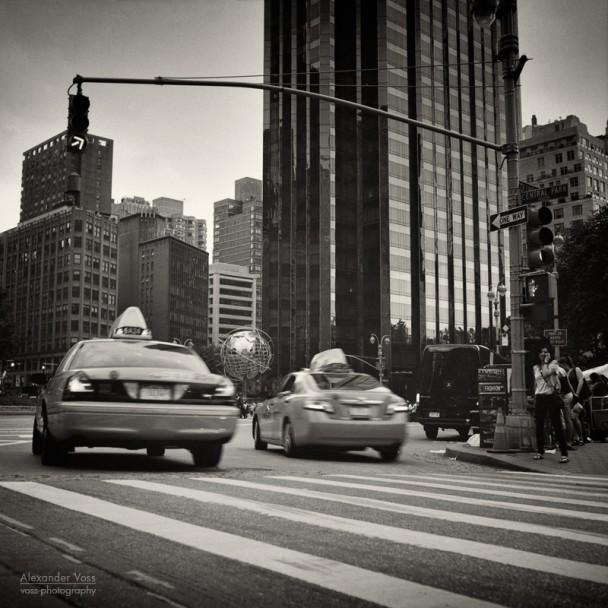 Analoge Fotografie: New York City – Columbus Circle