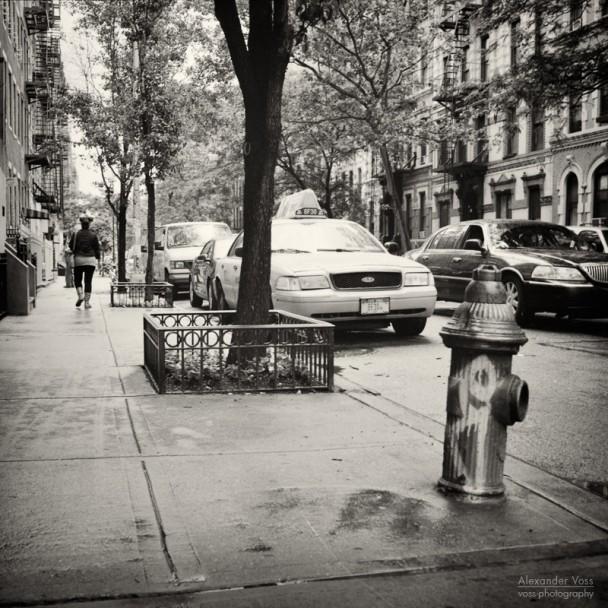 Analoge Fotografie: New York City - East Village (No.7)