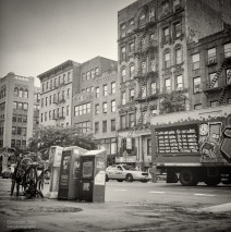 Analog Photography: New York City – East Village (No.8)