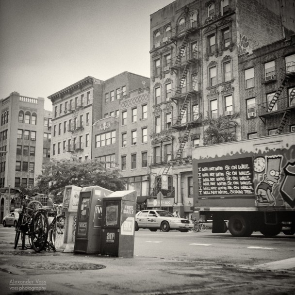 Analoge Fotografie: New York City – East Village (No.8)