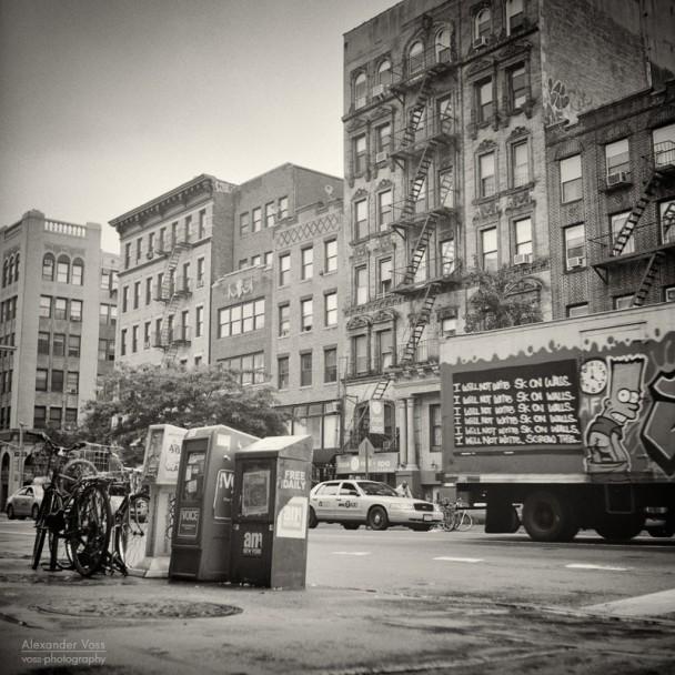 Analog Photography: New York City – East Village (No.8)