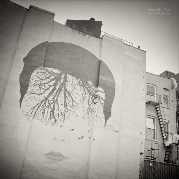 Analog Photography: New York City - East Village (No.9)