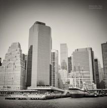 Analog Photography: New York City – Pier 15 / Waterfront Esplanade