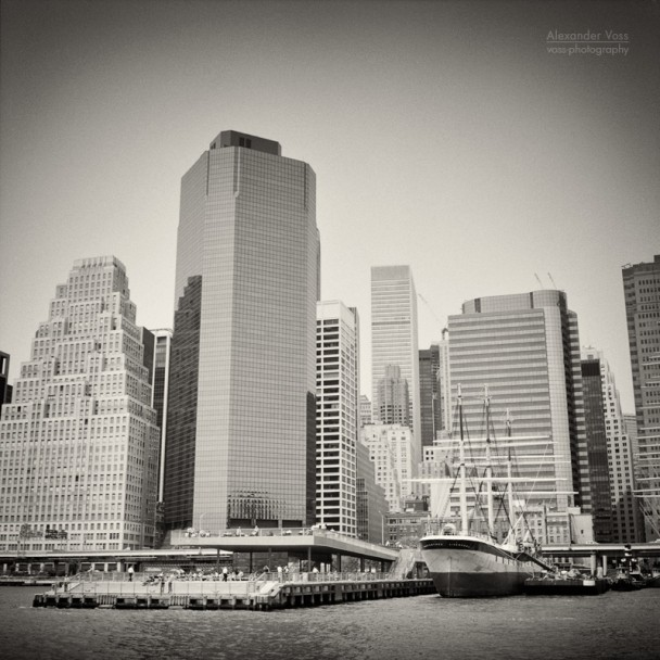 Analoge Fotografie: New York City – Pier 15 / Waterfront Esplanade